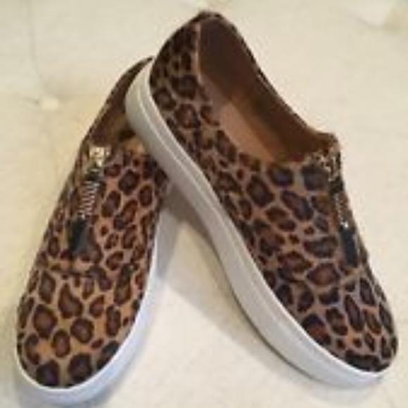 cf7311828c58 Madden Girl Shoes | New Kudos Zip Fashion Sneakers Leopard | Poshmark